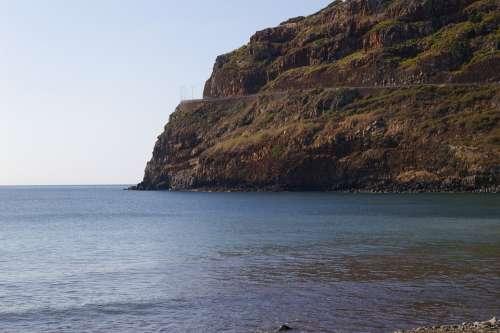 Wood Mar Cliff Stones Island