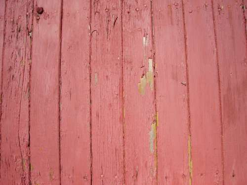Wood Paneling Red Paint Texture Textured