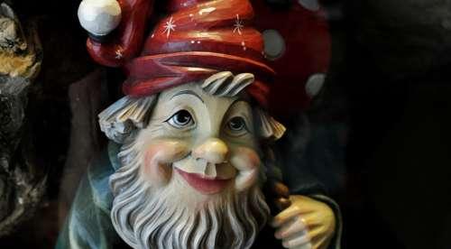 Wood Dwarf Craft Carved Wood Carving Carve Face
