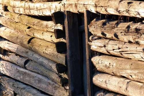 Wood Old Pinzgauer Hay Barn Weathered