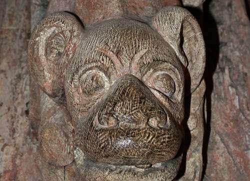 Wood Carving Detail Fantastic