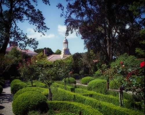 Woodside California Filoli Garden Landscaping