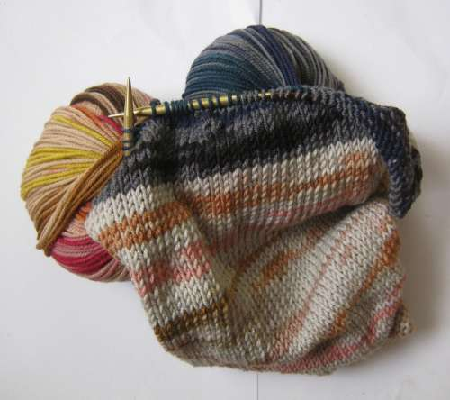 Wool Mesh Colorful Color Warm Soft Winter Knit