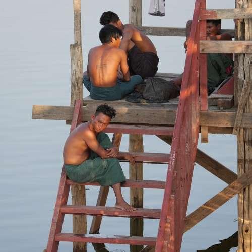 Workers Asia Fisherman Burma Myanmar Group