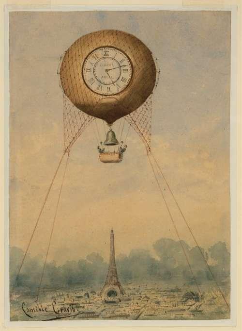World Exposition Paris France Vintage Historic