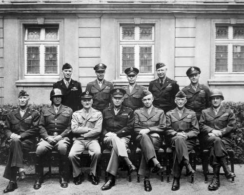 World War Ii Allies Generals Eisenhower Patton
