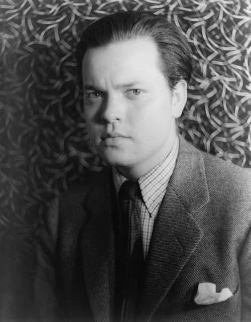 Writer Author Orson Welles Man Portrait 1937