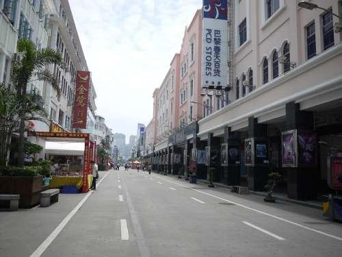 Xiamen Commercial Street Zhongshan Road
