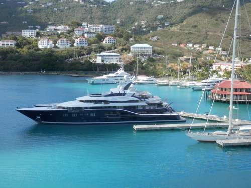 Yacht Ship Port Sea Boat Harbor