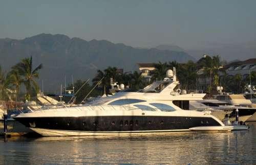 Yacht Boat Leisure Vessel Marine Marina Mexico