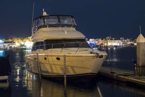 Yacht Boat Ship Ocean Sea Travel Water Nautical