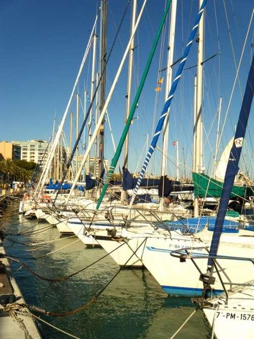 Yachts Sea Majorca Spain Marina Haven