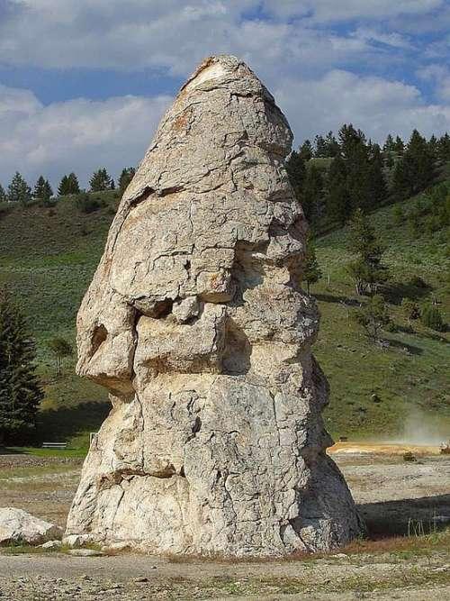 Yellowstone Cap Liberty Stones Rock Landscapes