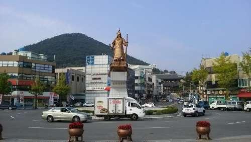 Yeosu Yi Square Yi Sun Sin