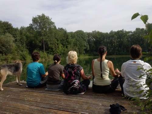 Yoga Meditation Nature Relaxation