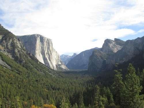 Yosemite National Park Outdoors El Capitan Nature