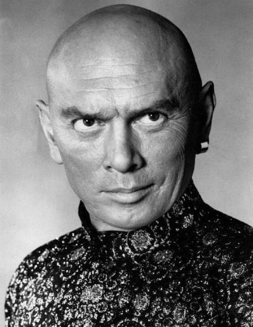 Yul Brynner Actor Film Stage Writer Model