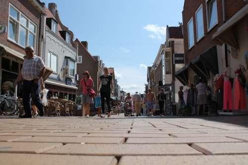 Zandvoort Pedestrian Zone Pedestrian Personal