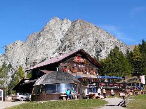 Zuegg Hut Hut Dolomites Alpine Meran Mountain