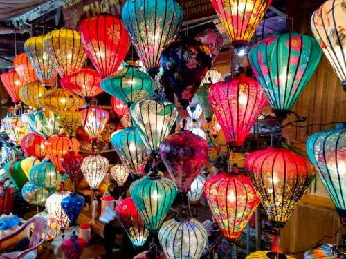Colorful Lamps