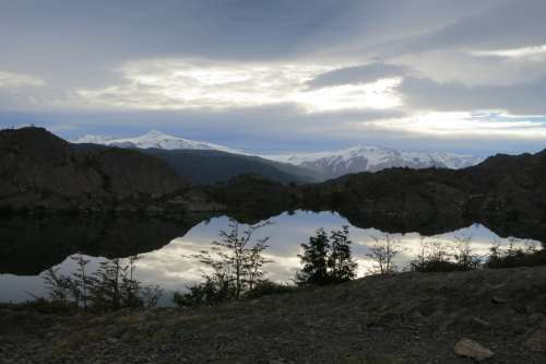 Laguna Platos, Torres Del Paine, Chile