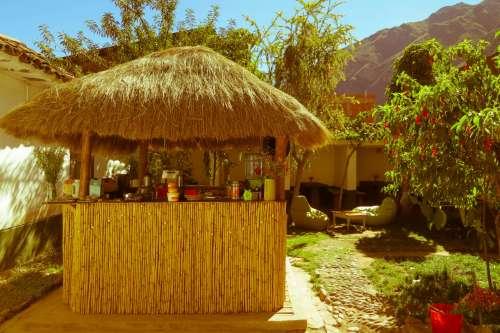 Old tea hut, Pisac, Peru.