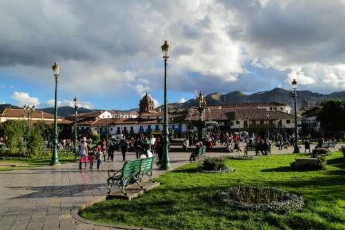 Plaza de Armes, Cusco, Peru.