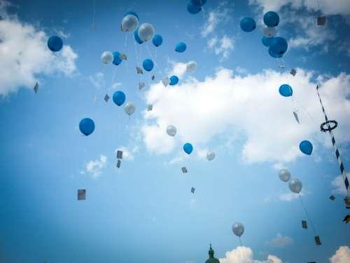 Wedding Balloons in Munich, Bavaria, Germany