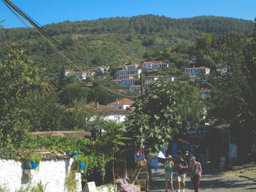 Walking alongŞirince, a village near Ephesus, Turkey. It's a quaint little village that makes for a great escape in the summer.