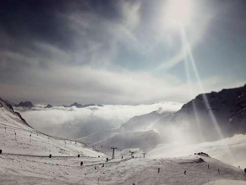 Piz Champatsch, Scuol, Graubünden,Switzerland