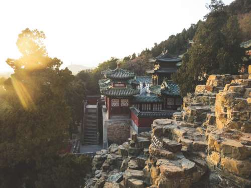 The Summer Palace, Beijing, China.