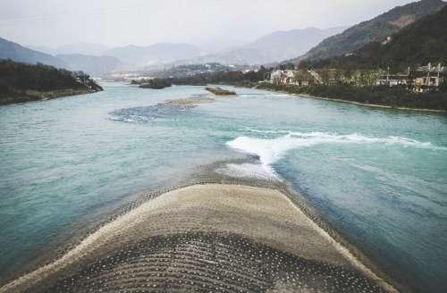 The Fish Mouth, Dujiangyan, Sichuan, China.