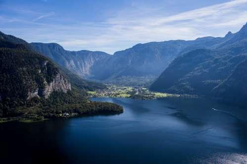 Lake Hallstatt, Salzkammergut, Austria