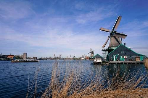Windmills, Amsterdam.