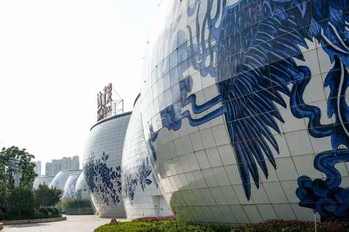 Wanda Porcelain Mall, Nan Chang, China.