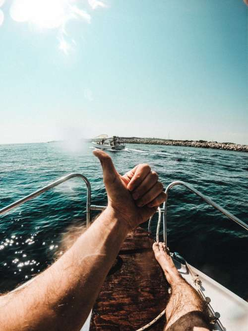 A Big Thumbs Up To Boating! Photo