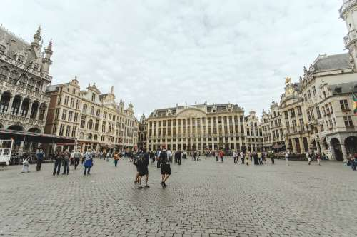 A Stroll Through The Grand Place Photo
