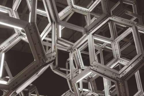 Abstract Light Fixture Photo