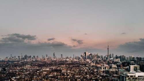Aerial View Of Toronto Skyline Photo