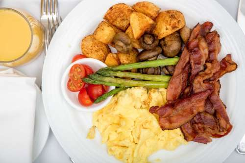 Bacon And Eggs Breakfast Photo