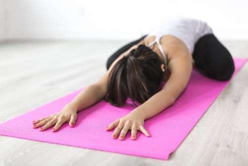 Balasana Yoga Photo