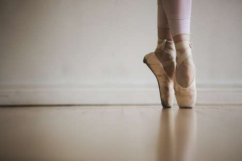 Ballet On Pointe Photo
