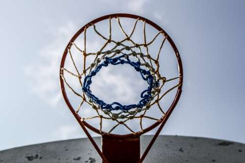 Basketball Hoop And Net Photo