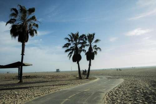 Beach Bike Path Photo