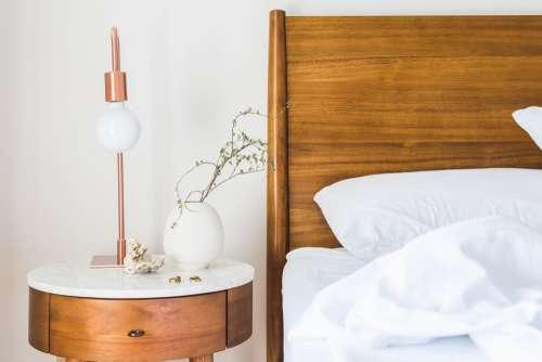 Bedroom & Side Table Light Photo