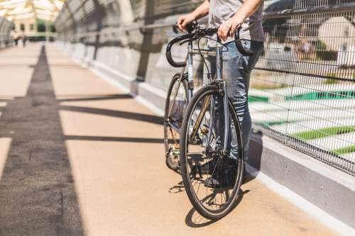 Bike Front Tire Photo