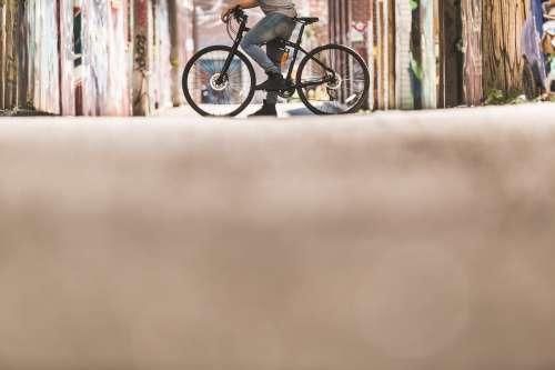 Bike In Alley Photo