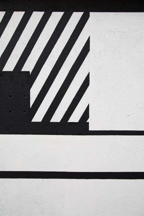 Black & White Concrete Background Photo