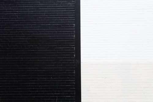 Black White Wall Photo