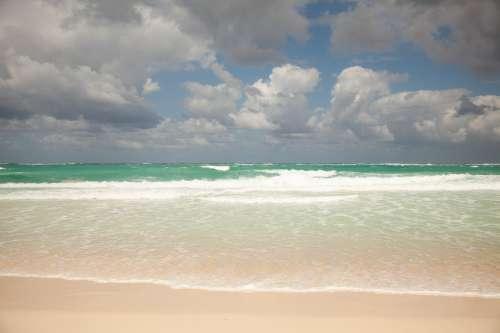 Blue Beach Waves Photo